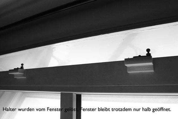 Hautau Klappfenster lässt sich nicht vollständig öffnen, trotz gelöster Halter - (Haus, Haushalt, öffnen)