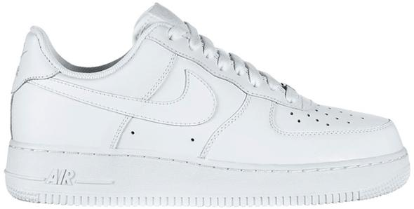 Weiß - (Schuhe, Nike, schwarz)
