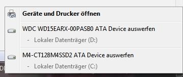 Festplatte als USB - Mysteriös - (PC, Festplatte, USB)