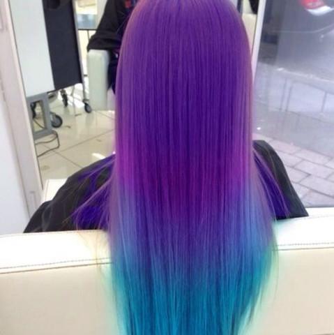 Heey Hab Mal Ne Frage Ich Will Mir Schon Lange Blau Lila Haare