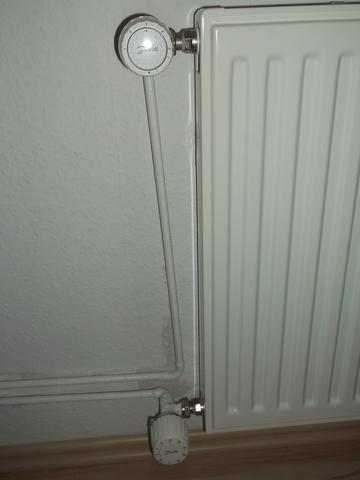 heizung mit 2 thermostaten wohnung heizungsthermostat. Black Bedroom Furniture Sets. Home Design Ideas