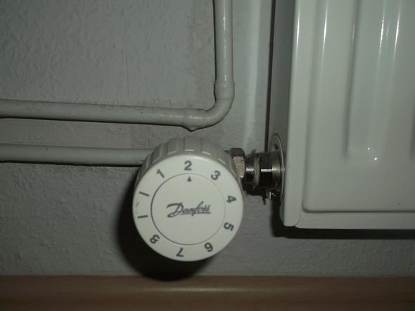 Thermostat unten  - (Wohnung, Heizungsthermostat)