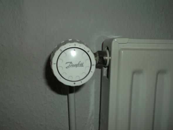 Thermostat oben - (Wohnung, Heizungsthermostat)
