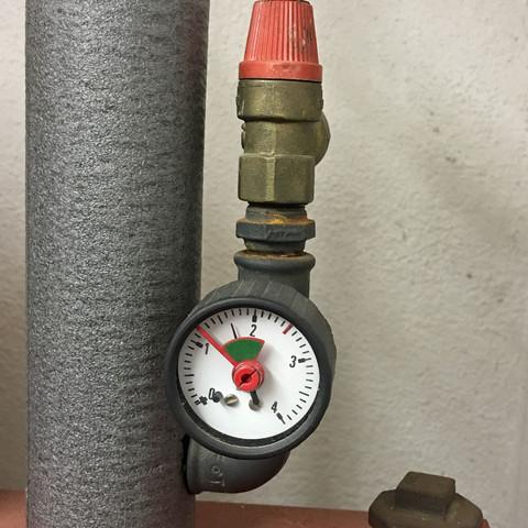 Wasserdruck  - (Heizung, windhager)