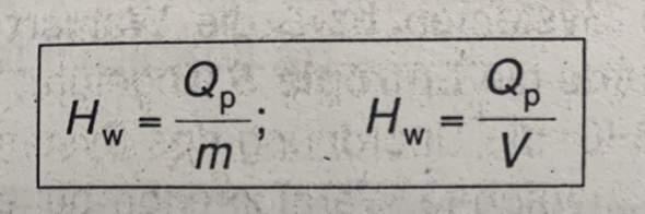 Heizwert von Kohlenstoff berechnen?