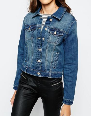 Hell Oder Dunkel Jeansjacke Thema