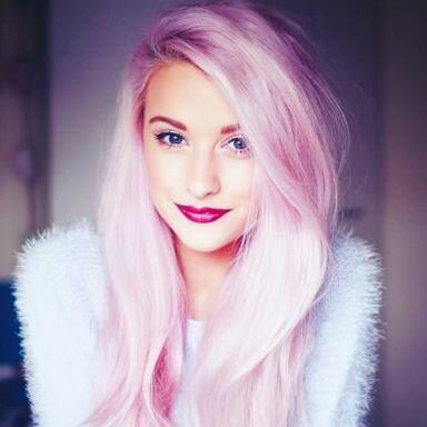 hell pinke haare färben pink rosa