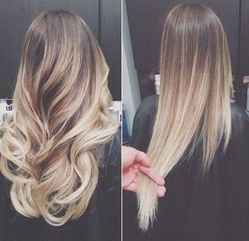 Dunkelblond mit strähnchen haarfarbe Passende Haarfarbe