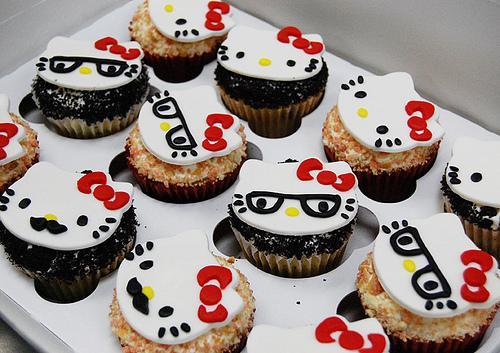 Hello Kitty Cupcakes Rezept 3 Food