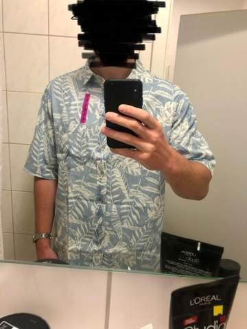 hemd zu groß?