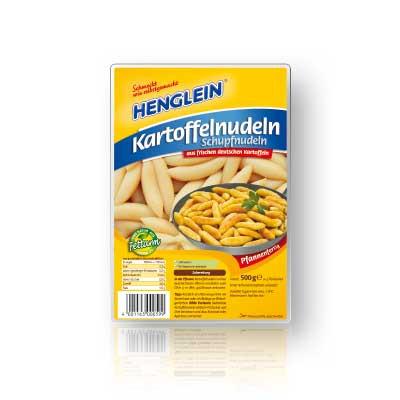 Die Henglein Kartofelnudeln/Schlupfnudeln - (Kochen, Zubereitung, Pfanne)