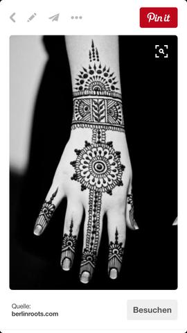 Das fände ich sehr schön😍 - (Beauty, Henna Tatoo)