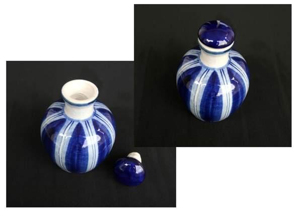 Herkunft Keramik-Deckelvase?