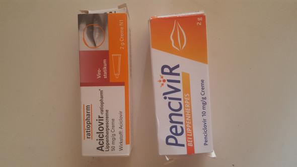 - (Gesundheit und Medizin, Creme, Herpes)