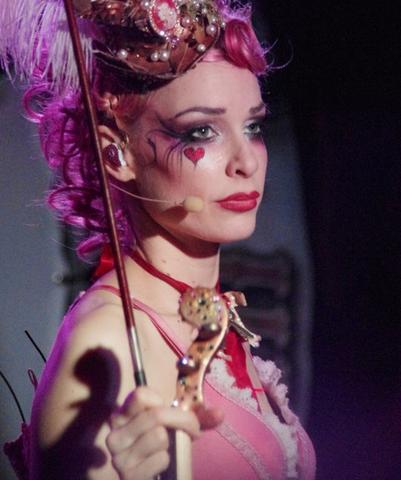 Herz - (schminken, Emilie Autumn)