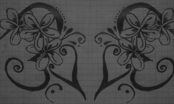 tattoovorzeichnungblume - (Tattoo, Umfrage)
