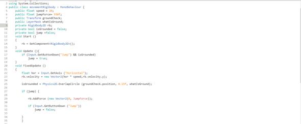 Script - (programmieren, Unity)