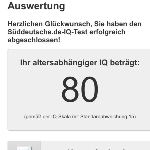 Iq 100 Gut Oder Schlecht