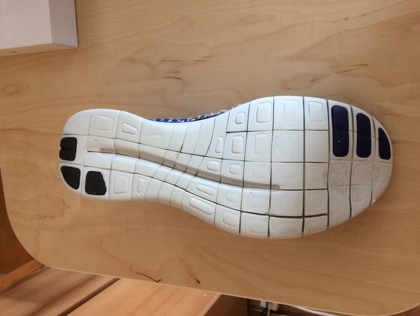 von unten - (Schuhe, suche , Nike)