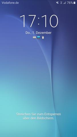 - (Android, Einstellungen, samsung galaxy s6)