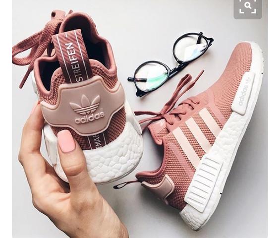 NMD's rosa/pink - (Schuhe, adidas, Internetshopping)