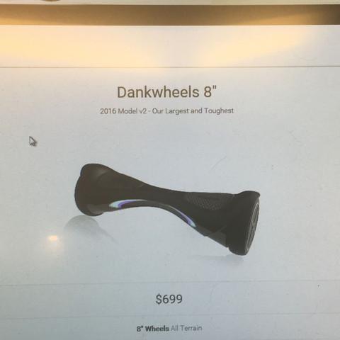 Das ist der 8.0 - (Scooter, hoverboard, segway)