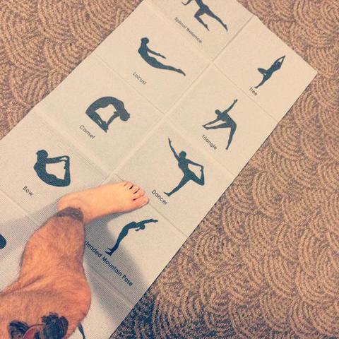 Yogamatte - (Übungen, Yoga, Matte)