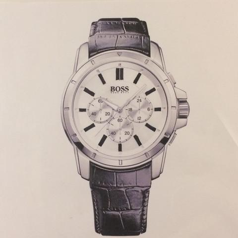 Dies ist die Uhr  - (Uhr, hugo boss, Herren Uhr)