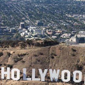 BEHIND HOLLYWOOD SIGN - (USA, Hollywood, Los Angeles)