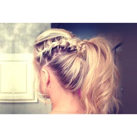 french braids фото