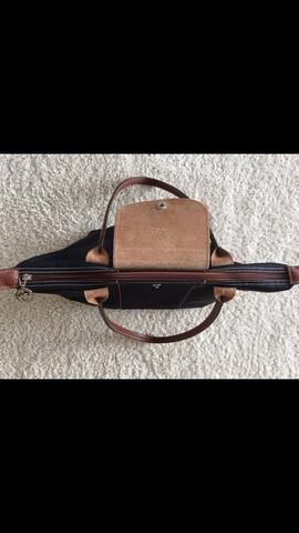 Tasche von oben  - (Kleidung, Tasche, Handtasche)