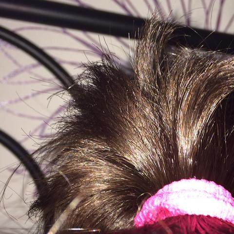 Haare gesund? Oder nicht? - (Haare, kaputt, nah)