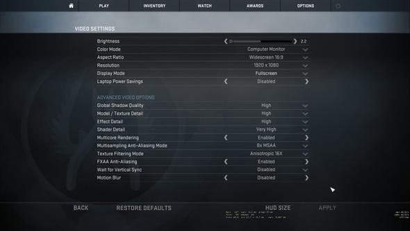Einstellungen - (Grafik, Counter-Strike)
