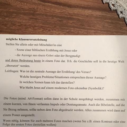 Auftrag Religion  - (Schule, Religion, Gymnasium)