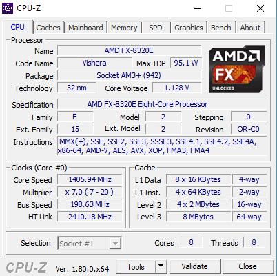Cpu-Z - (Computer, Hardware, Prozessor)
