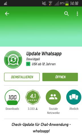 das↑ - (Handy, WhatsApp)