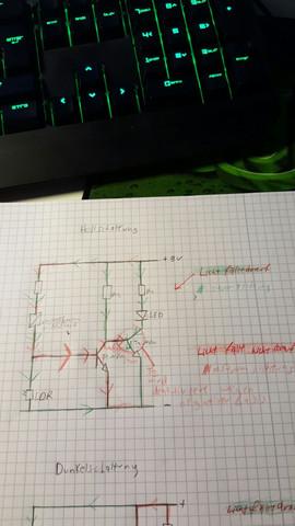 Hellschaltung - (Technik, Elektronik, Technische Zeichnung)