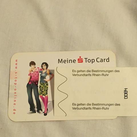 Meine top Card  - (Gutschein, Top, card)