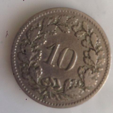 Hi Welchen Wert Hat Eine 10 Rappen Münze Von 1902 Immerhin Ist Sie
