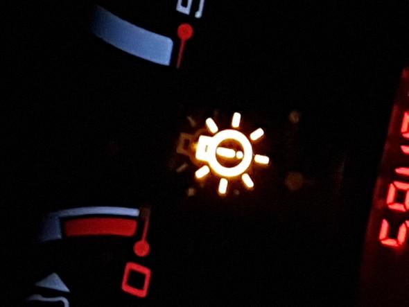 Warnleuchte Ford Ka - (Auto, Ford KA, Warnleuchte)