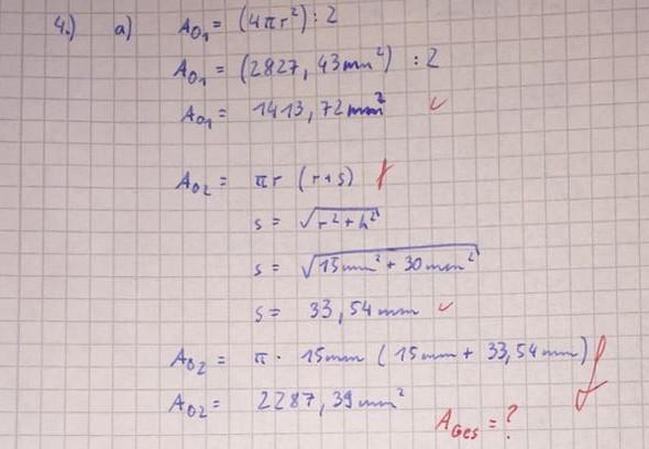 Das ist meine Rechnung  - (Schule, Mathe, Aufgabe)