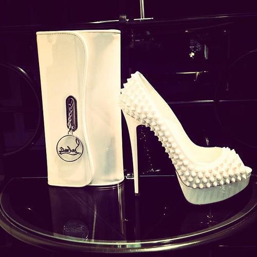 high heels mit stacheln marke wo kaufen beauty. Black Bedroom Furniture Sets. Home Design Ideas