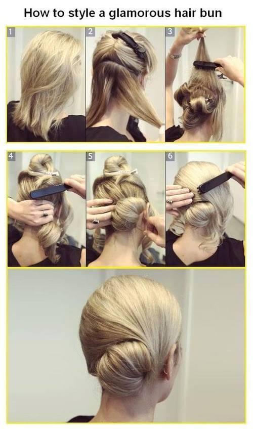 Hilfe Anleitung Zu Der Frisur Haare Beauty Aussehen