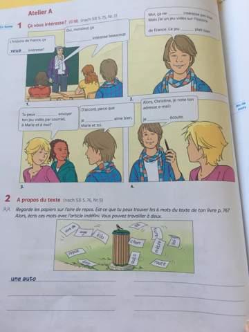 - (Schule, Französisch, 7. Klasse)