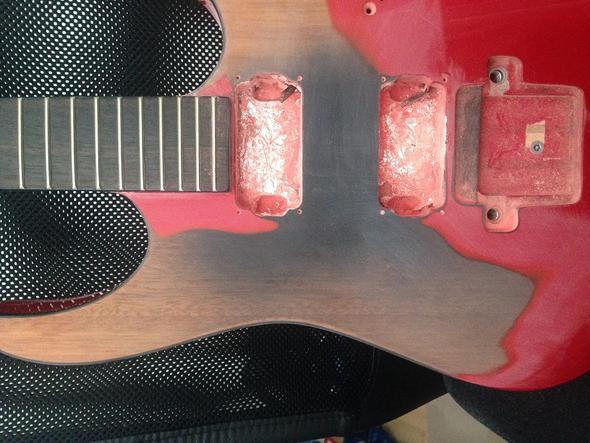 Front - (Gitarre, Instrument, Holz)