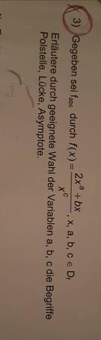 Die Aufgabe 3 muss ich machen - (Mathe, Aufgabe)