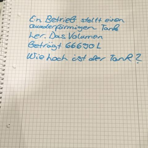 Fragestellung  - (Schule, Mathe, Hausaufgaben)