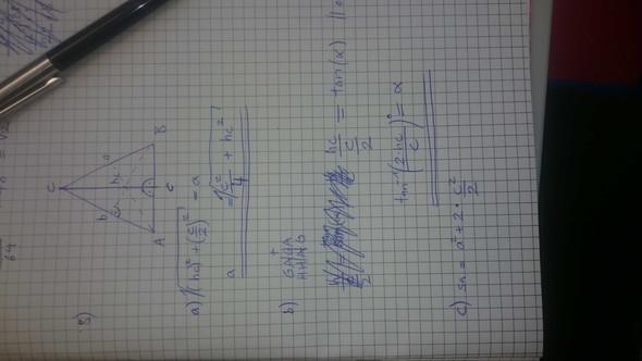 Mein Lösungsversuch... - (Mathe, Mathematik, Geometrie)