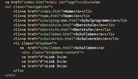 HTML-Code - (programmieren, html, Programmierung)