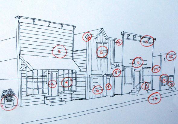 hilfe bei fluchtpunkt und parallelperspektive schule kunst zeichnen. Black Bedroom Furniture Sets. Home Design Ideas